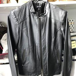 Apt 9 Genuine Leather Jacket